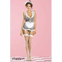 Deguisements sexy femme Obsessive - Tenue Housekeeper Obsessive - Taille S/M