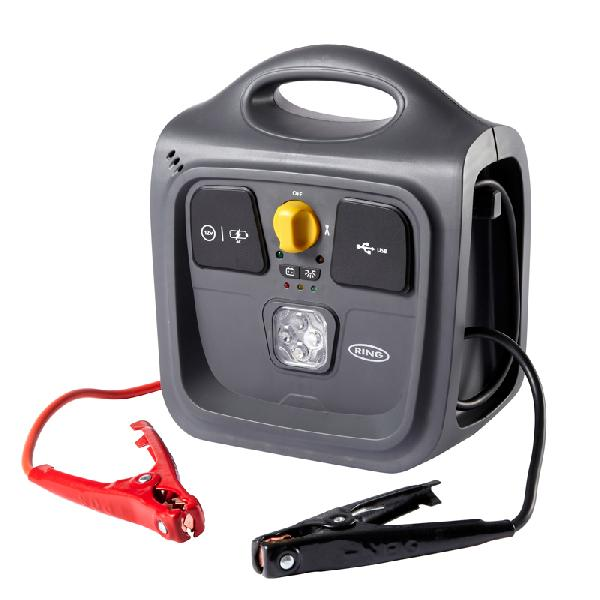 Demarreur Rapide compact 12v -500A demarrage- 9AH LED 2xUSB