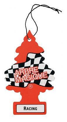 arbre magique desodorisant arbre magique racing 129650. Black Bedroom Furniture Sets. Home Design Ideas