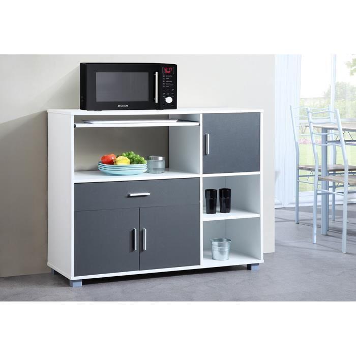 desserte cuisine grise maison design. Black Bedroom Furniture Sets. Home Design Ideas