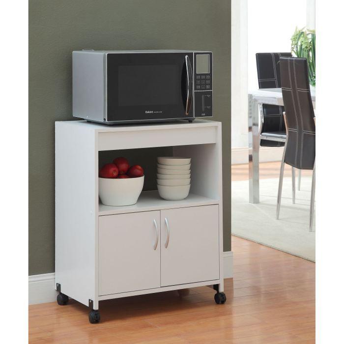 aucune easy desserte de cuisine 60 cm blanc 315358. Black Bedroom Furniture Sets. Home Design Ideas