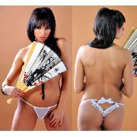 Dessous LRDP - String Ciara blanc L-XL