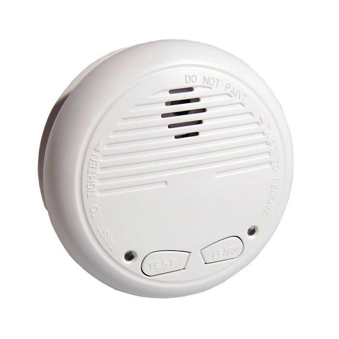 chacon d tecteur de fum e optique interconnectable sans fil avec batterie 9v 321820. Black Bedroom Furniture Sets. Home Design Ideas