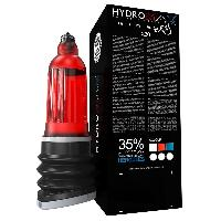 Developpement erection Bathmate - Developpeur Hydromax X30 Wide Boy Rouge 30cm