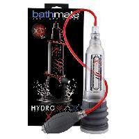 Developpement erection Bathmate - Developpeur Hydromax X30 Xtreme transparent