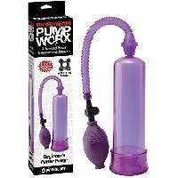 Developpement erection LRDP - Developpeur Pump Worx Beginners Power Pump mauve