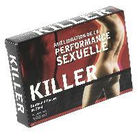 Developpement erection Nutri Expert - Killer -performance sexuelle- 4 X 25 ml