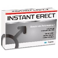 Developpeurs penis Nutri Expert - Instant Erect - 10 gelules