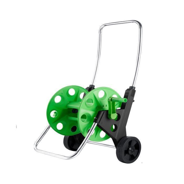 lucien le jardinier chariot pour tuyau d 39 arrosage 50 m 449028. Black Bedroom Furniture Sets. Home Design Ideas