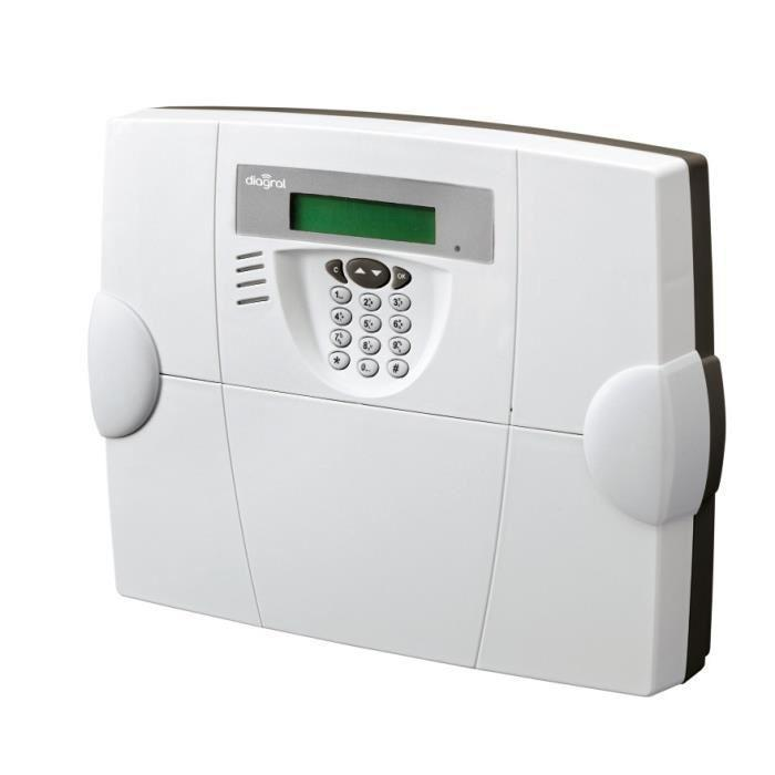 Diagral transmetteur telephonique interactif gsm d 39 alarme for Alarme maison diagral