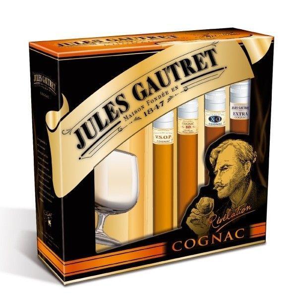 Aucune Coffret Jules Gautret Cognac Revelation 303324