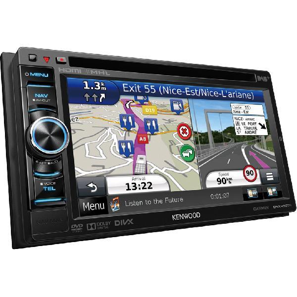 DNX450TR - Autoradio 2DIN DVD/MP3 - USB/iPod - DAB - Bt - Navigation Poids-Lourds et Camping-car