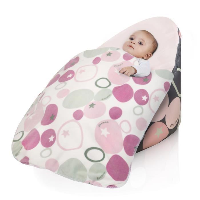 babymoov babymoov plaid doomoo galet rose polaire 309718. Black Bedroom Furniture Sets. Home Design Ideas