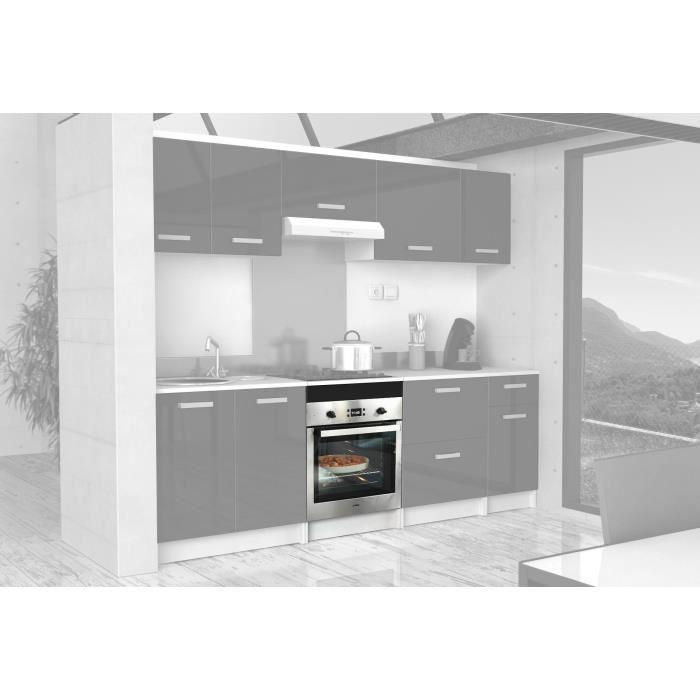 Start caisson bas de cuisine pour four 60 cm noir haute for Element bas de cuisine 60 cm