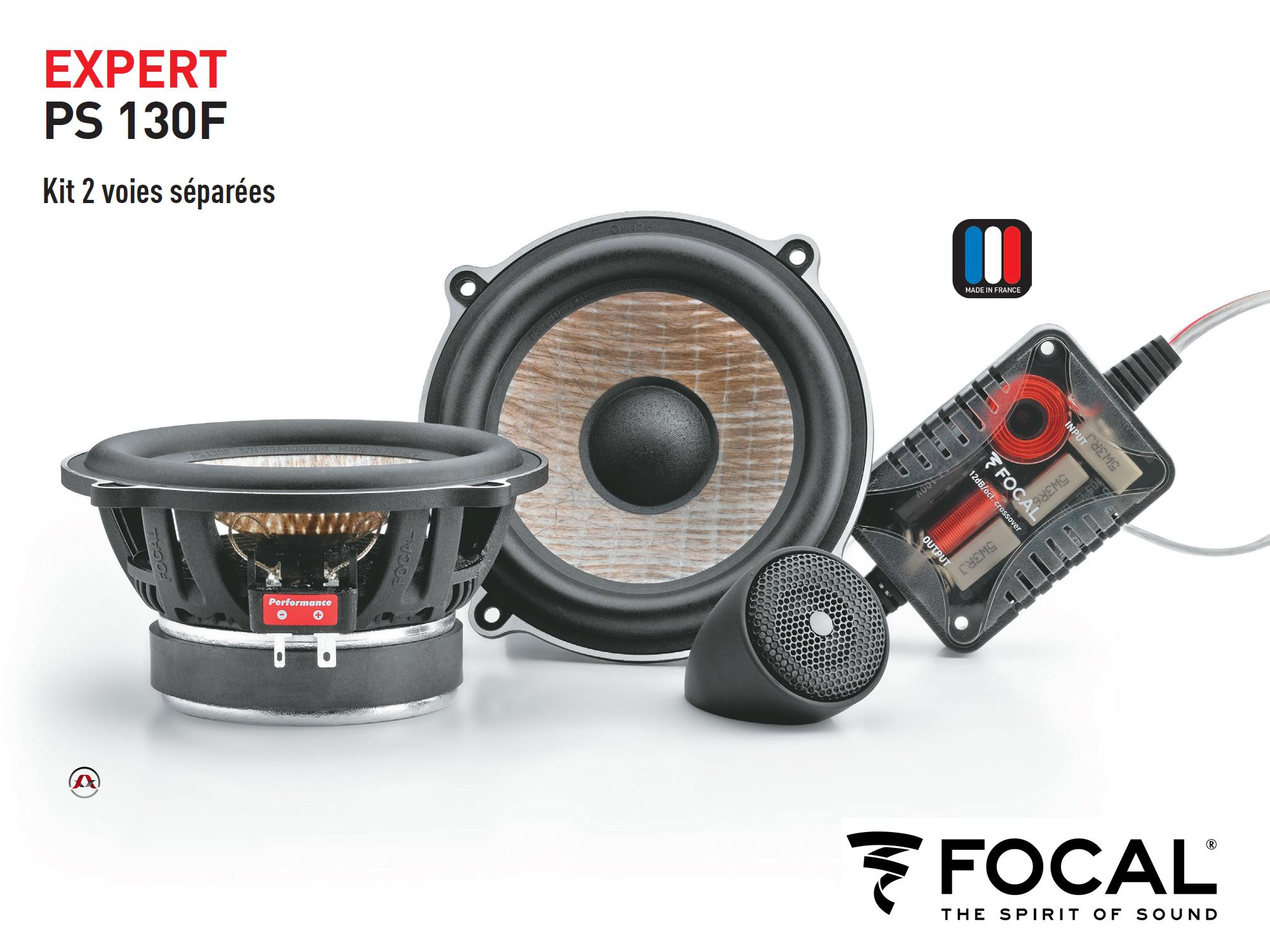 Kit focal voiture