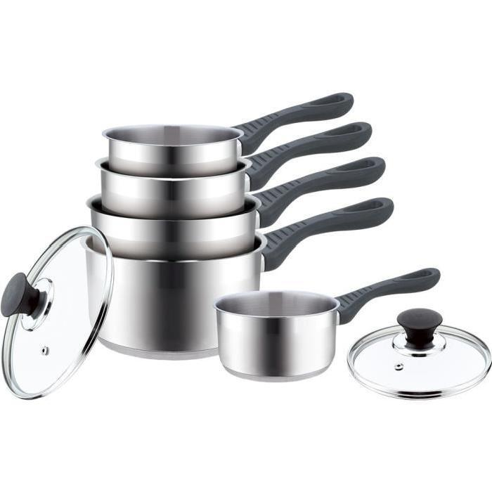 Ensemble ustensiles lot ustensiles mid for Revetement inox cuisine
