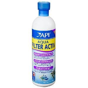 Entretien Et Traitement Api - Aqua Filter Activ 473ml pour maintenir eau propre - Pour aquarium