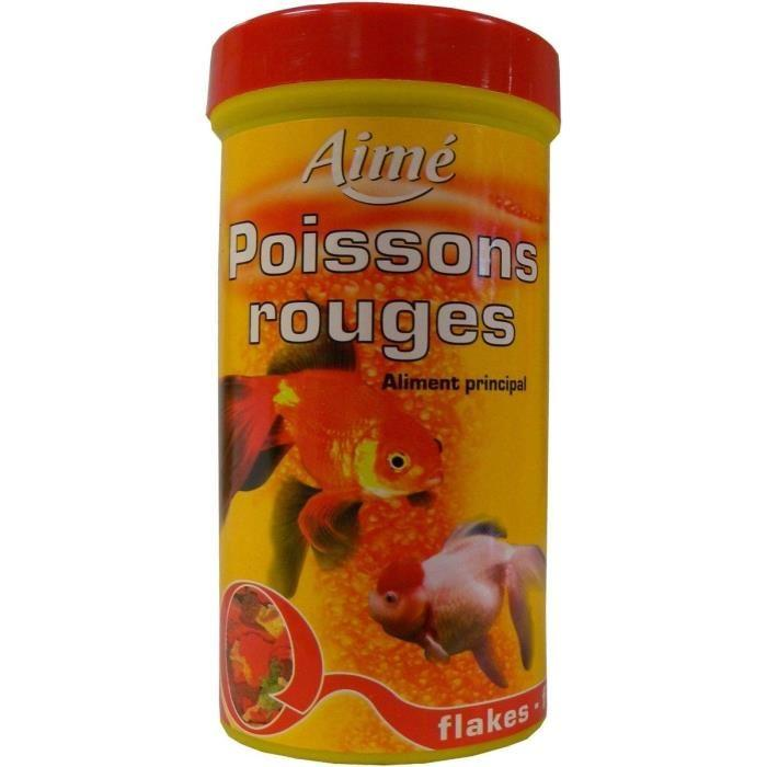 Aime aliment principal en flocons pour poisson rouge for Aliment pour poisson rouge