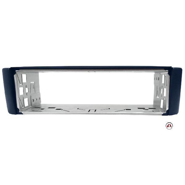 Facade autoradio 1DIN pour Smart Fortwo 98-07 - Bleu - RAF3700B [Voiture : Smart > ForTwo > ForTwo I