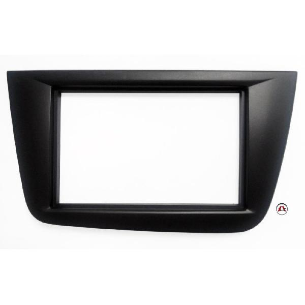 Facade autoradio 2DIN Seat Toledo ap04 - Noir [Voiture : Seat > Toledo > Toledo III (5P - ap04)]