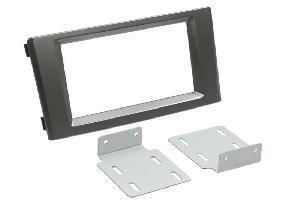 Facade autoradio Opel Pioneer - Kit Integration 2din pour Opel Agila/ Suzuki Swift ap04 - Noir