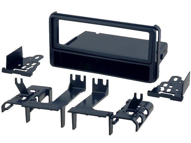 facade autoradio 1din toyota hilux 05 10 noire avec vide poche 304811. Black Bedroom Furniture Sets. Home Design Ideas