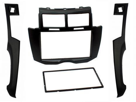 adnauto facade autoradio 2din noire toyota yaris 07 09 adnauto 461571. Black Bedroom Furniture Sets. Home Design Ideas