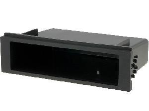 Facade Universelle ADNAuto - 1Din Universel - Vide poche pour emplacement auto radio ISO - 188x52x105mm - ouv 155x39 - le plus universel - SPM - ADNAuto