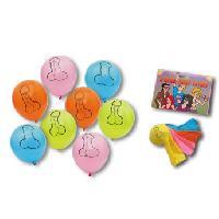 Fantaisie, Humour LRDP - 8 Ballons penis Pecker