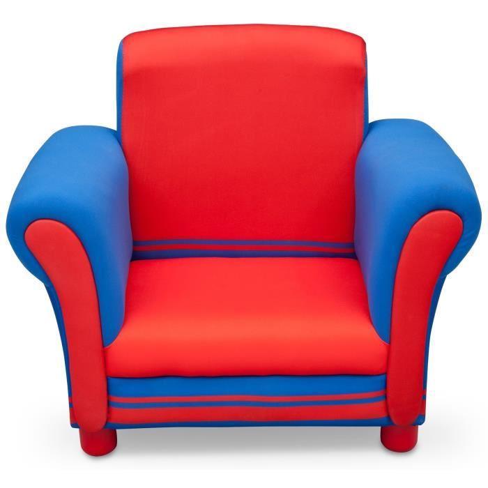 delta children fauteuil enfant bleu et rouge 284645. Black Bedroom Furniture Sets. Home Design Ideas