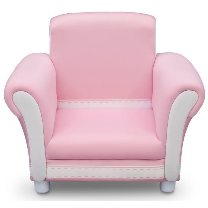 fauteuil canape bebe delta children fauteuil enfant rose. Black Bedroom Furniture Sets. Home Design Ideas