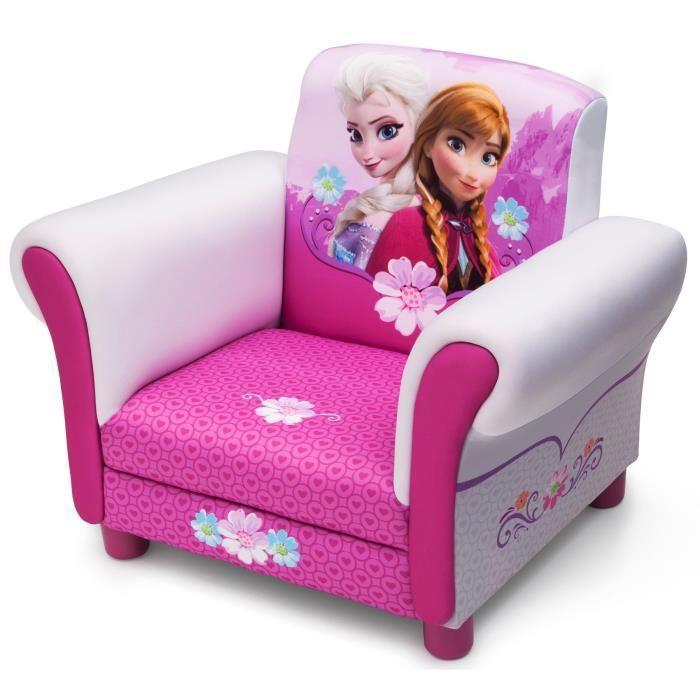 delta children la reine des neiges fauteuil enfant chesterfield 242363. Black Bedroom Furniture Sets. Home Design Ideas