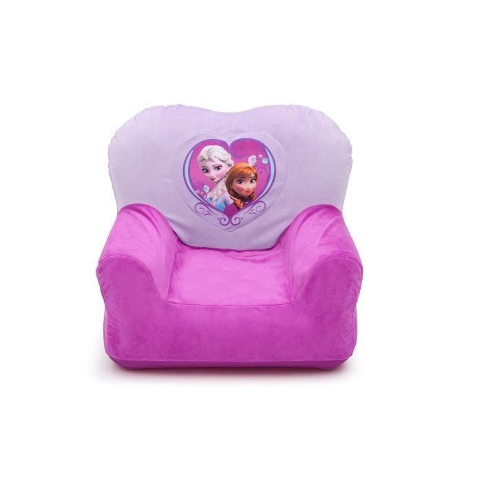delta children la reine des neiges fauteuil enfant gonflable 312627. Black Bedroom Furniture Sets. Home Design Ideas