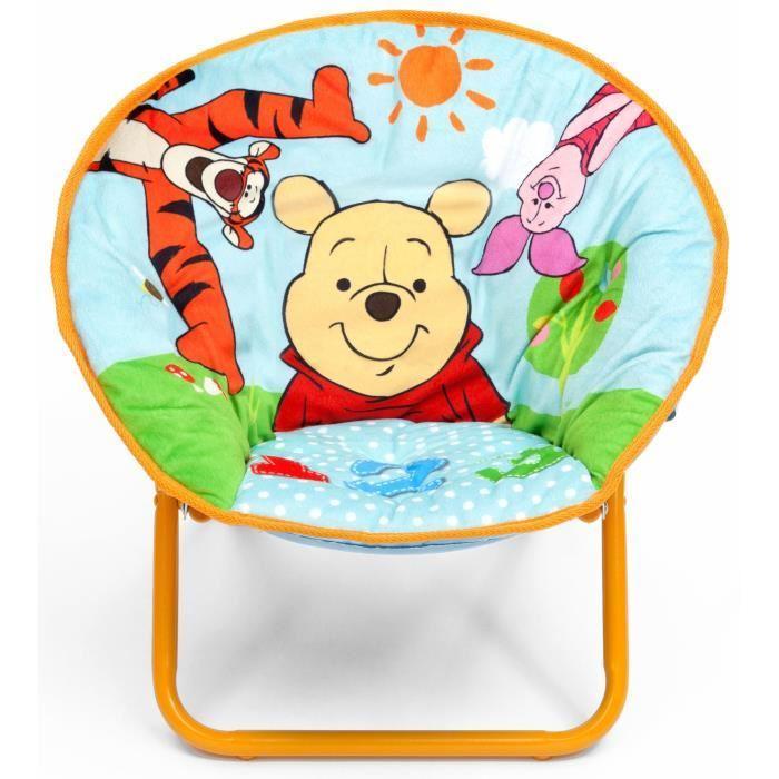 Delta children winnie l 39 ourson chaise lune 242360 - Table winnie l ourson et chaise ...