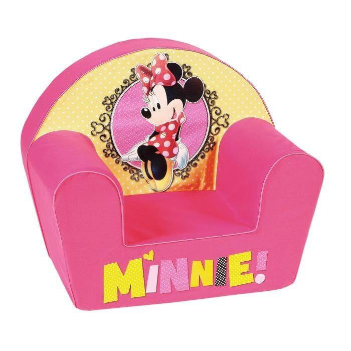 Disney disney minnie mad fauteuil club rose 401832 - Fauteuil club minnie de disney ...