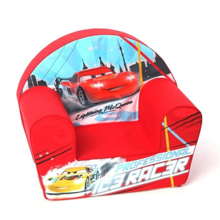 Cars  Fauteuil Rouge