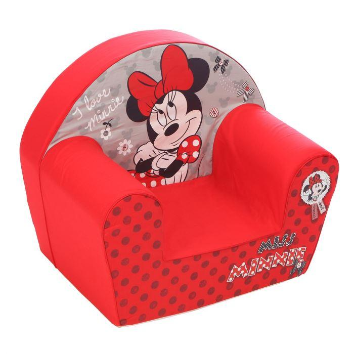 nicotoy disney fauteuil club minnie 293552. Black Bedroom Furniture Sets. Home Design Ideas