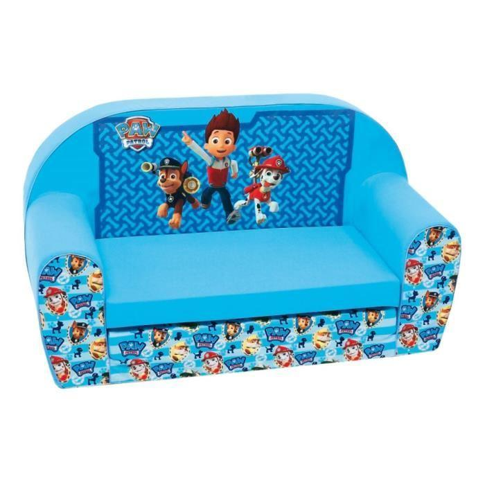 paw patrol paw patrol canap enfant pat patrouille bleu 453434. Black Bedroom Furniture Sets. Home Design Ideas