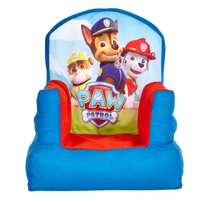 worlds apart pat patrouille chaise gonflable paw patrol 303416. Black Bedroom Furniture Sets. Home Design Ideas