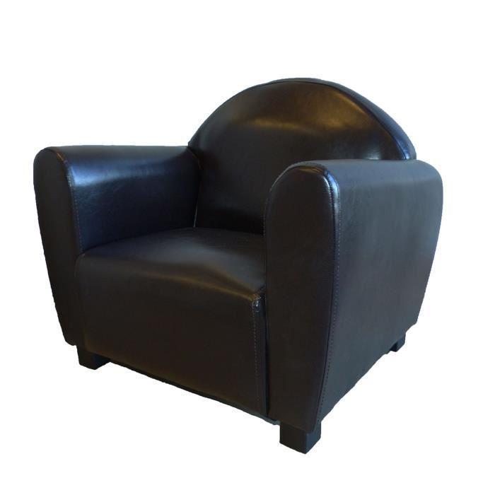aucune fauteuil club enfant en simili rouge 343601. Black Bedroom Furniture Sets. Home Design Ideas