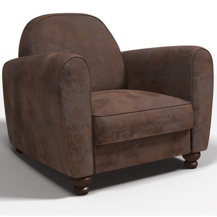 finlandek salon finlandek fauteuil club vintage marron ik inen 366577. Black Bedroom Furniture Sets. Home Design Ideas
