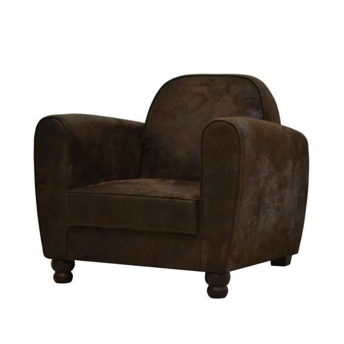 finlandek salon finlandek fauteuil club vintage marron. Black Bedroom Furniture Sets. Home Design Ideas