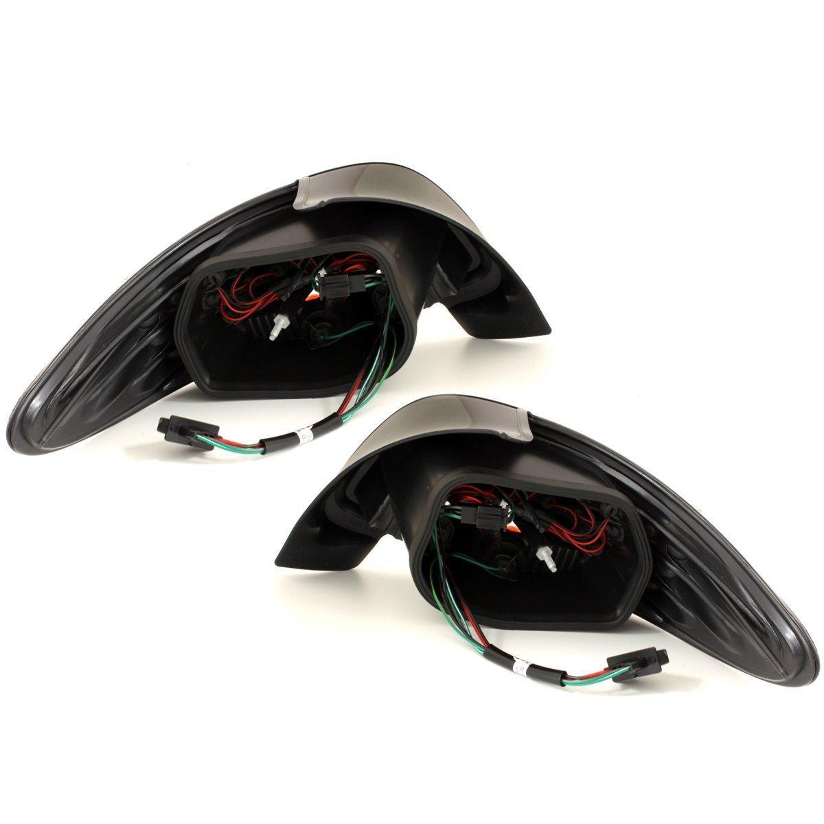 adnauto 2 feux arriere leds adaptables pour peugeot 206 cristal 11113. Black Bedroom Furniture Sets. Home Design Ideas