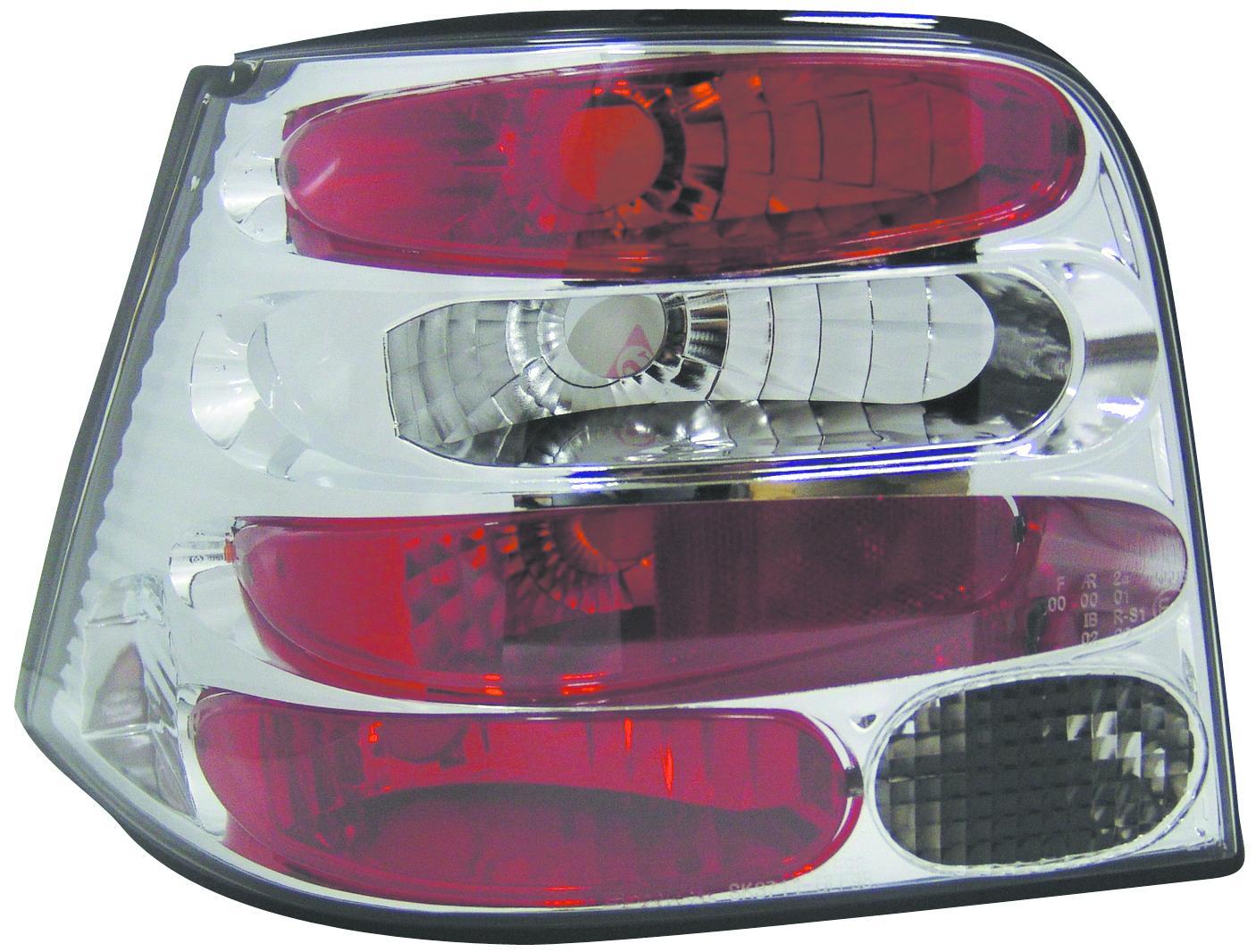 2 feux tuning adaptables volkswagen golf iv rouge cristal 500. Black Bedroom Furniture Sets. Home Design Ideas
