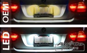 Feux de plaques ADNAuto - Feu de plaque a LED  VW Polo 9N3 / 6R