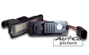Feux de plaques ADNAutoMID - Feu de plaque a LED  VW Polo 9N3 / 6R