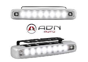 Feux diurnes - DRL ADNAuto - 2 Feux de position - 8 LEDs - 112x38x24mm - 12V 1W 6000K