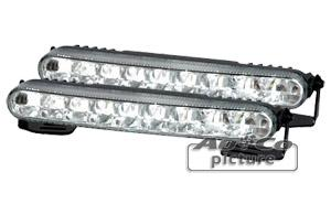 Feux diurnes - DRL ADNAuto - 2 Feux Diurnes - 18 LEDs - Fonction feux de position - 182x24x43mm - AuCo