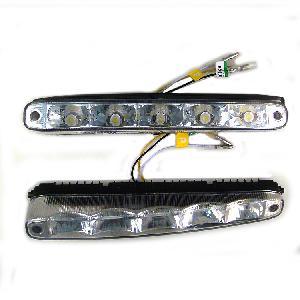 Feux diurnes - DRL ADNAutoMID - 2 Feux Diurnes - 5 LEDs - Fonction feux de position - 220x25x54mm - AuCo