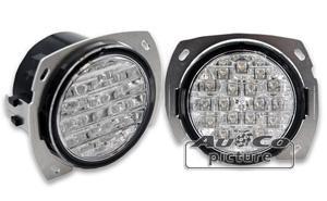 Feux diurnes - DRL ADNAutoMID - 2 Feux Diurnes a LED pour VW T5 03-09 - Fonction feux de position - AuCo